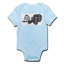 NBlkPup Everything Infant Bodysuit