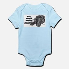 NBlkPup Everything Infant Bodysuit