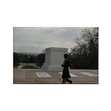 Arlington National Cemetery Honor Guard silhouette