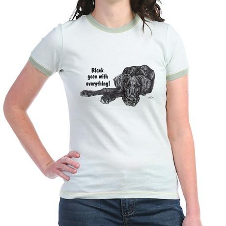 NBlkPup Everything Jr. Ringer T-Shirt