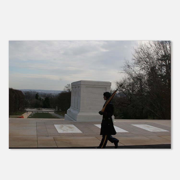 Arlington National Cemetery Honor Guard silhouette