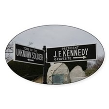Arlington National Cemetery street signs Decal