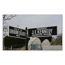 Arlington National Cemetery street signs Decal