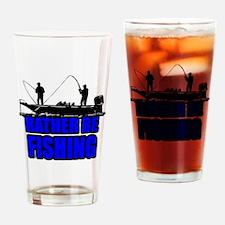 1ratherbefishing1 Drinking Glass