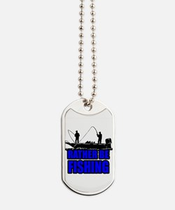 1ratherbefishing1 Dog Tags
