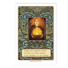 Autumn Goddess Essence Postcards (Package Of 8)