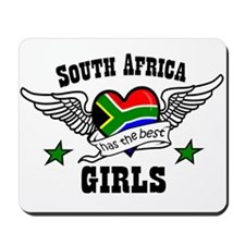 South African girls Mousepad