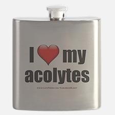 """Love My Acolytes"" Flask"