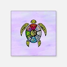 Turtle Ba-Gua Sticker