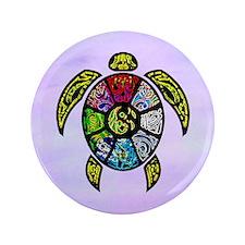 """Turtle Ba-Gua 3.5"""" Button"""