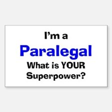 paralegal Sticker (Rectangle)