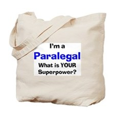 i'm a paralegal Tote Bag