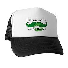 Mustache Irish Kiss Trucker Hat