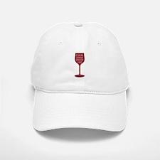 Good Time For Wine Baseball Baseball Baseball Cap