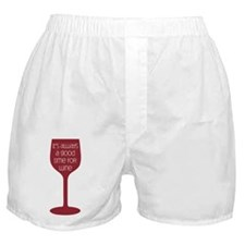 Good Time For Wine Boxer Shorts