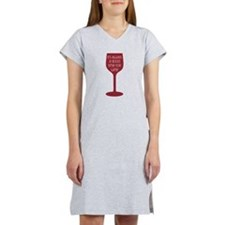 Good Time For Wine Women's Nightshirt