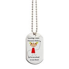 Character Defects Dog Tags
