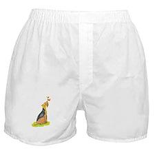 Wirehair Fox Terrier Boxer Shorts
