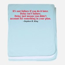 Its not failure baby blanket