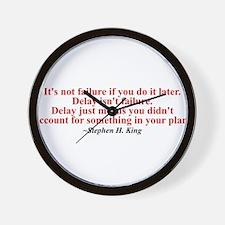 Its not failure Wall Clock