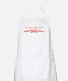 Its not failure Apron