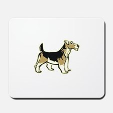 Wirehair Fox Terrier Mousepad