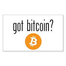 Got Bitcoin Decal