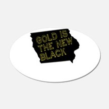 Gold is New Black Wall Decal