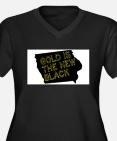 Gold is New Black Plus Size T-Shirt