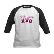 Purple Ava Name Baseball Jersey