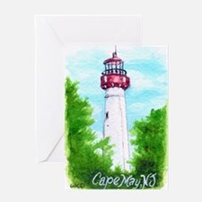 Cape May Lighthouse Greeting Cards