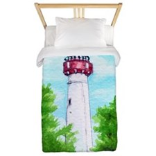 Cape May Lighthouse Twin Duvet