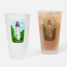 Cape May Lighthouse Drinking Glass