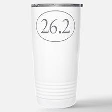 26.2 Marathon Distance Travel Mug