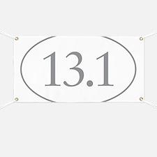 13.1 Miles Banner