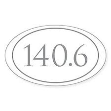 140.6 Triathlon Decal