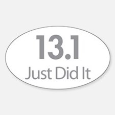 13.1 Just Did It Decal
