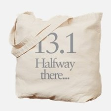 13.1 Running Halfway There Tote Bag