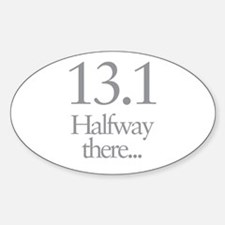 13.1 Running Halfway There Decal