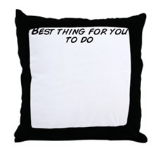 Cute That thing you do Throw Pillow