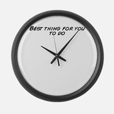 Cute That thing you do Large Wall Clock