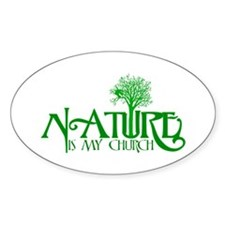 Nature is my Church Stickers
