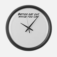 Funny Get Large Wall Clock