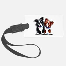 Little League Border Collies Luggage Tag
