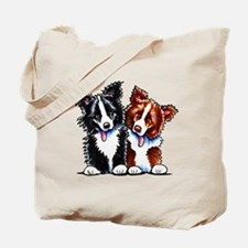 Little League Border Collies Tote Bag