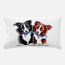 Little League Border Collies Pillow Case