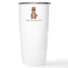 Happy Groundhog Day! Travel Mug