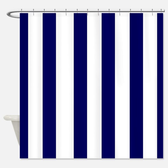 Navy Shower Curtains Cafepress