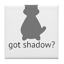 got shadow? Tile Coaster