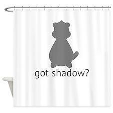 got shadow? Shower Curtain